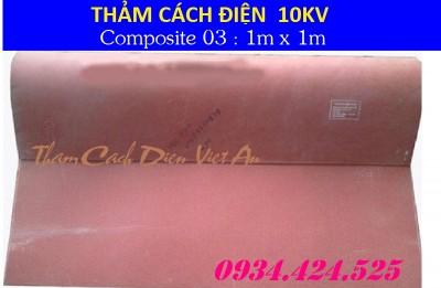 THẢM CÁCH ĐIỆN 10KV CP03