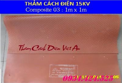 THẢM CÁCH ĐIỆN 15KV CP03