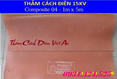 THẢM CÁCH ĐIÊN 15KV CP04
