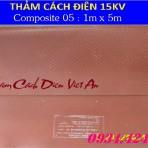 THẢM CÁCH ĐIỆN 15KV CP05